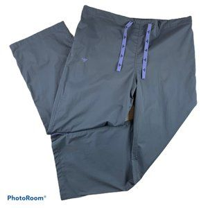 New MED COUTURE Gray Scrub Pants Uniform 8705 XL